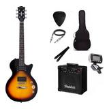 Kit Guitarra Strinberg Les Paul Lps200 Caixa Amplificada