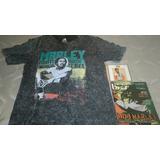 Kit Reggae Cd Jimmy Cliff E Camiseta Bob Marley E Revista