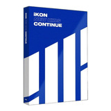 Kpop Album Cd Ikon New Kids Continue Versão Blue