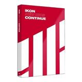 Kpop Album Cd Ikon New Kids Continue Versão Red
