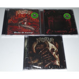 Krisiun 3 Cds  assassination bloodshed works Of Carnage