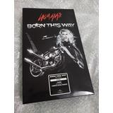 Lady Gaga Born This Way Box Set Colombia Cd E Camiseta M