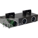 Laser Raios Rgb 3 Saidas 550mw Dmx Áudio Rítmico Bivolt