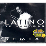 Latino Cd Single Te Namorar Remix 5 Versões  Lacrado Raro