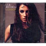 Lea Michele Louder   Cd Pop