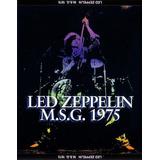 Led Zeppelin Cd Triplo Madison Square Garden 1975 Novo Raro