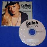 Leilah Moreno   Levanta A Mão   Cd Single   2006   Promo