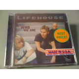Lifehouse Who We Are Cd Lacrado Fabrica Made U s a Importado