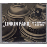 Linkin Park   Somewhere I Belong Cd Single Novo Lacrado Raro