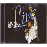 Lionel Richie Cd Live His Greatest More Lacrado Disco Funk
