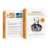 Livro Box Guia Completo Sobre Espiritismo 4 Livro E Um Cd
