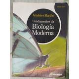 Livro Fundamentos Da Biologia Moderna   Volume Único Com Cd