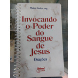 Livro Invocando O Poder Do Sangue De Jesus Com Cd De Brinde