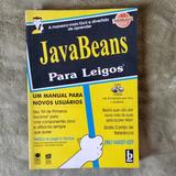 Livro Java Beans Para Leigos   Emily Vander Veer   Com Cd