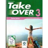 Livro Take Over 3 Com Cd   Ensino Médio   Denise Santos