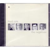 Lloyd Cole 2000 The Negatives Cd Past Imperfect Importado
