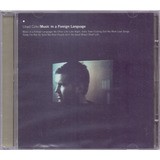 Lloyd Cole 2003 Music In Foreign Language Cd Importado