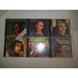 Lote 12 Cds   Bob Marley   Rock Reggae Internacional Raro