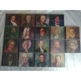 Lote 18 Cds Coleção Grandes Compositores Mozart Liszt Bach
