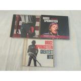 Lote 3 Cds   Bruce Springsteen   Pop Rock Internacional Raro