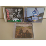 Lote 3 Cds   The Clash   Combat Rock   London Calling