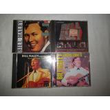 Lote 4 Cds   Bill Halley   Rock Blues Inter Rarissimo