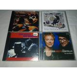 Lote 4 Cds   Elvis Costello Raro Rock Classico Internacional
