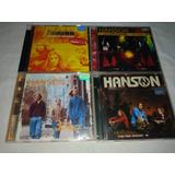 Lote 4 Cds   Hanson   Raro Rock Classico Internacional