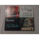 Lote 4 Cds   Los Hrmanos Ventura Perfil   Rock Nacional