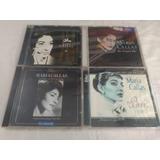 Lote 4 Cds Maria Callas   Rock Internacional Raro