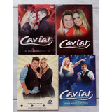 Lote 4 Dvds Forró Caviar Com Rapadura Promo