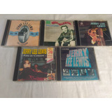 Lote 5 Cds Jerry Lee Lewis   Rock Internacional Rarissimo