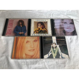 Lote 5 Cds Trisha Yearwood   Rock Internacional Pop Raro