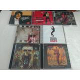 Lote 7 Cds Michael Jackson   Rock Internacional Rarissimo