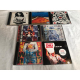Lote 7 Cds Red Hot Chilly Chili Pepper   Rock Internacional