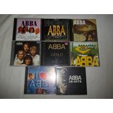 Lote 8 Cds   Abba I Love   Raro Rock Internacional Raro