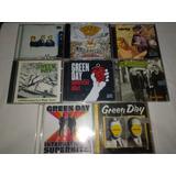Lote 8 Cds   Green Day   Raro Rock Classico Internacional