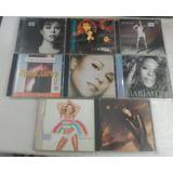 Lote 8 Cds Mariah Carey   Rock Internacional Rarissimo