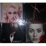 Lote 8 Cds Pop Gwen Stefani Adele Diana Krall Cyndi Lauper