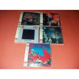 Lote Com 5 Uriah Heep Shm Cd Japones Importado Japao Raro
