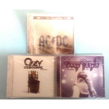 Lote De Cds   Ozzy Osb  Deep Purple   Ac dc Hits Collection