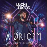 Lucas Lucco   A Origem Ao Vivo Em Goiânia   Cd