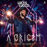 Lucas Lucco A Origem Ao Vivo Em Goiânia   Cd Sertanejo