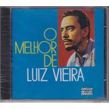 Luiz Vieira   Cd O Melhor Sucessos   Lacrado
