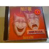 Mötley Crüe Theatre Of Pain Cd Lacrado Fabrica Importado Usa