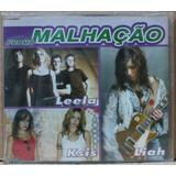 Malhação Promo Cd Single Leela Ksis Liah Promo Original