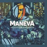 Maneva Ao Vivo Em São Paulo   Cd Reggae