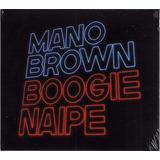 Mano Brown Cd Boogie Naipe Novo Lacrado Frete Grátis