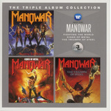 Manowar Cd Box Set Triple Album Collection Lacrado Importado