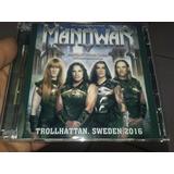 Manowar Cd Duplo Live Trollhattan Sweden 2016